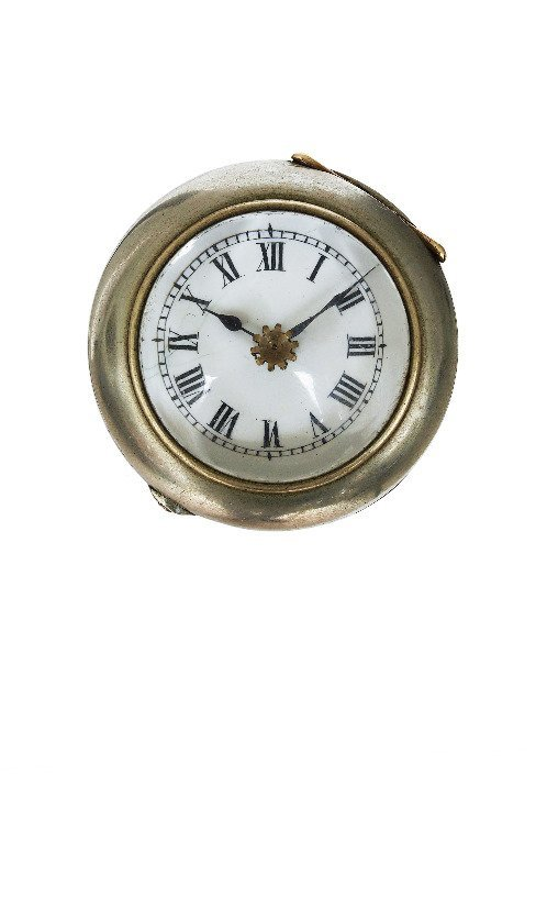 35. Watch System Cane-Ca. 1890-White metal cased watch - 7