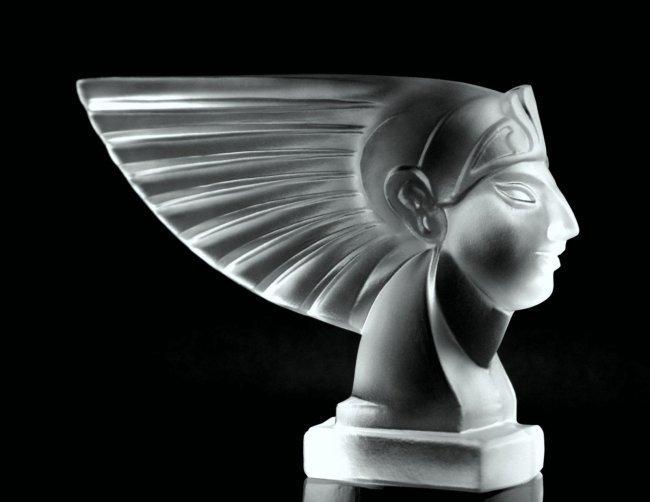 Art Deco 1930 / Bohemia Glass Car Mascot
