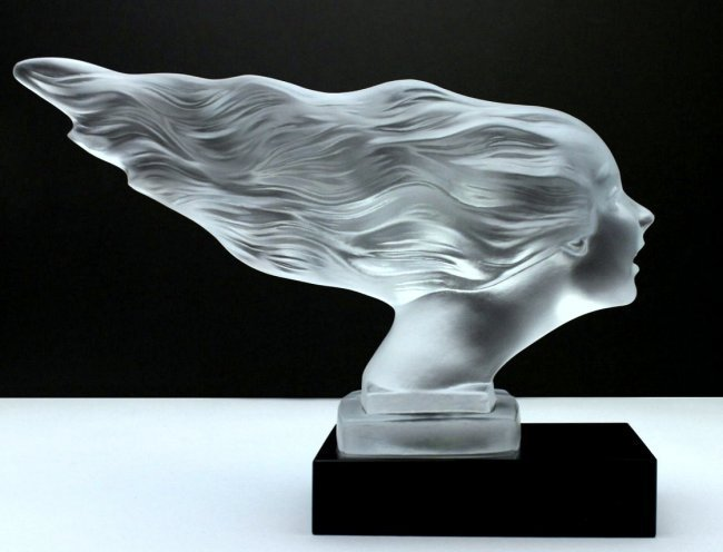 French Art Deco / Glass Statuette