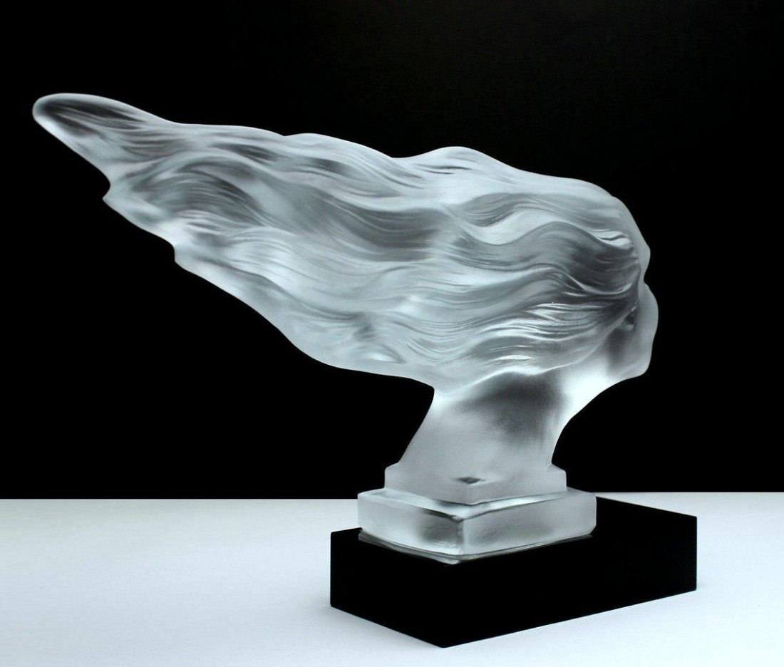 French Art Deco / Glass Statuette - 3
