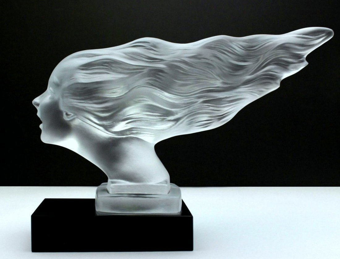 French Art Deco / Glass Statuette - 5