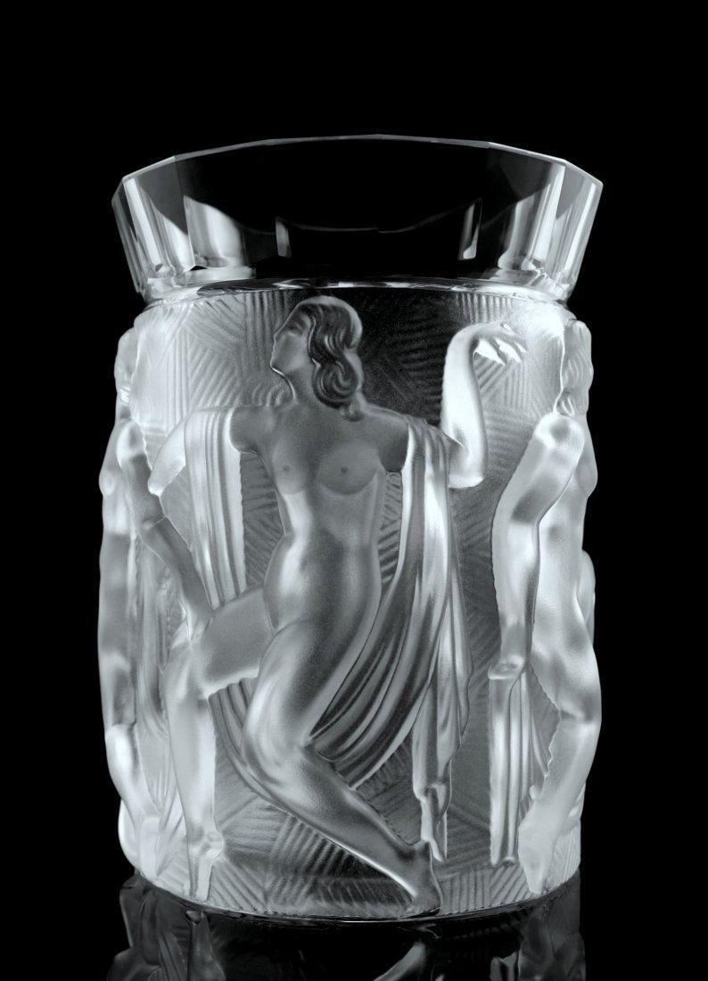Art Deco Glass Vase - 2