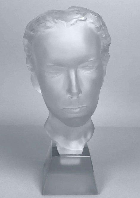 Art Deco 1930' XLarge Bust Sculpture H.Hoffmann