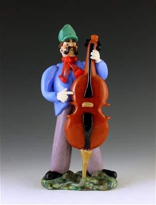 Murano Art Glass Figurine Sculpture