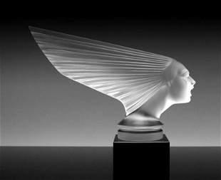 Art Deco Glass ' Victoire ' H.Hoffmann By Lalique