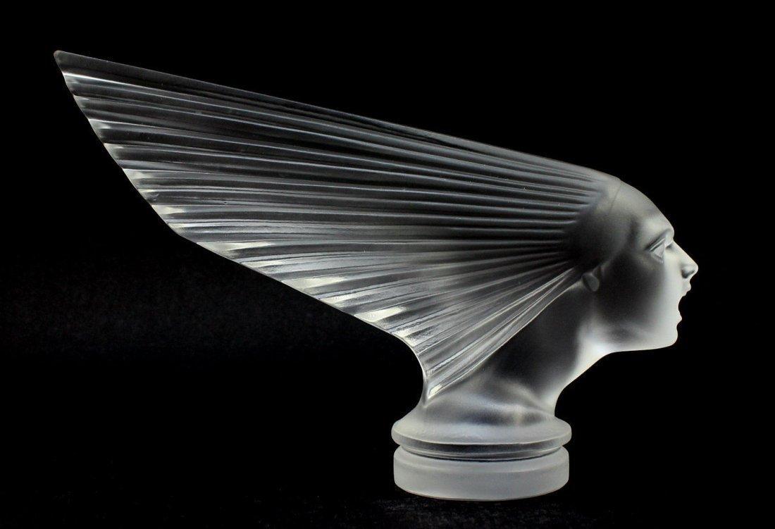 Bohemian Art Deco Glass VICTOIRE Car Mascot H.Hoffmann