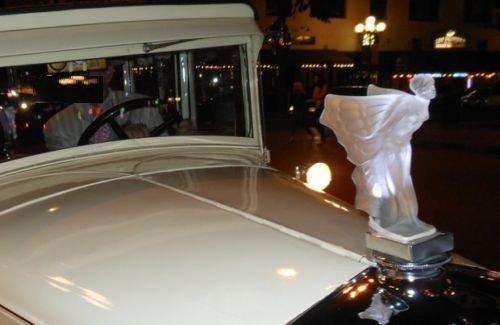 Glass Car Mascot /Art Deco Design Ca.1930 / Bohemia - 6