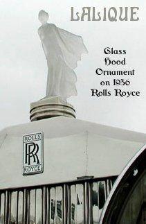 Glass Car Mascot /Art Deco Design Ca.1930 / Bohemia - 7