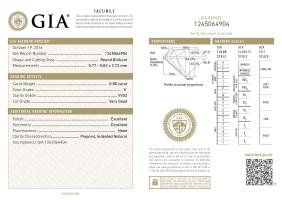 GIA/Round/E/VVS2/0.8Ct