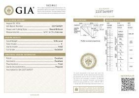 GIA/Round/E/VVS2/0.84Ct