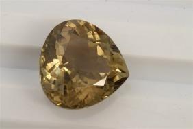 7.55ct Pear Shape Brown Tourmaline