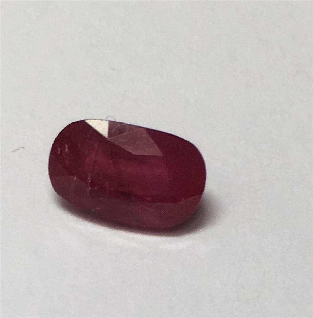 1.73ct Oval Cut Ruby