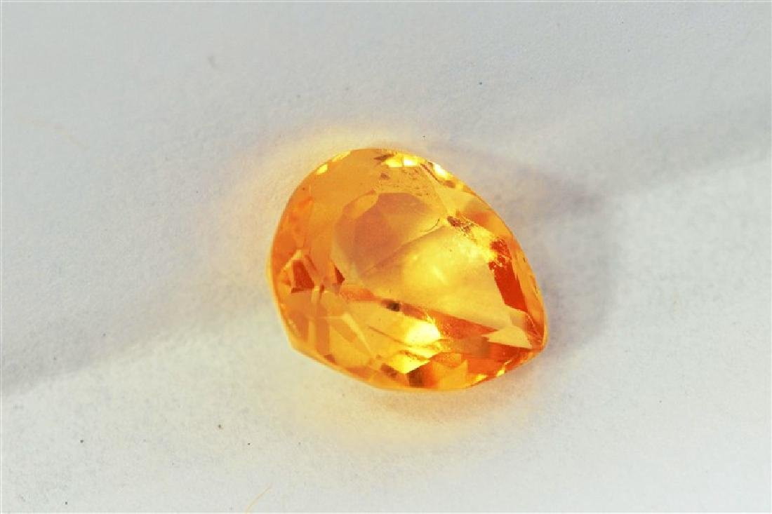 1.91ct Pear Shape Imperial Topaz