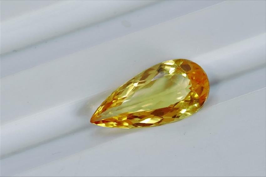 2.62 ct Pear  Shape Imperial Topaz