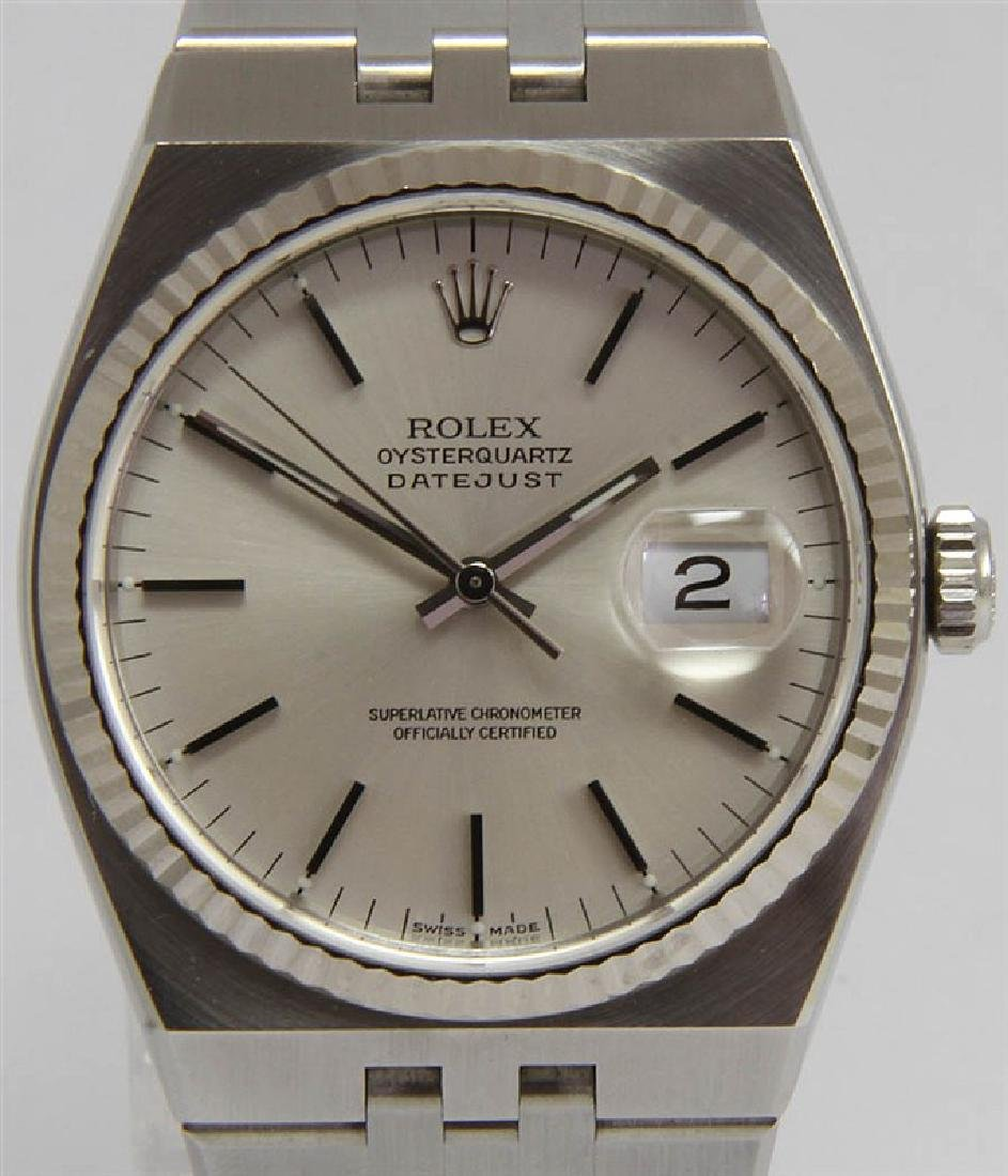 Pre-owned Rolex Oysterquartz