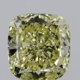 GIA/CUSHION/FANCY/SI2/2.07ct