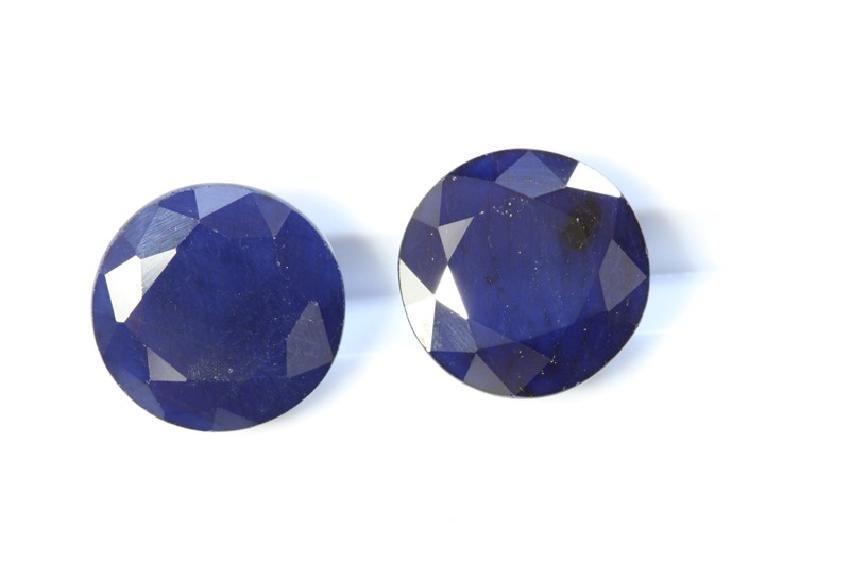 9.12ct ct Round Blue Sapphire(Treated)
