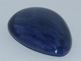 48.35 ct Pear Shape blue Sapphire Dimension- 30x20