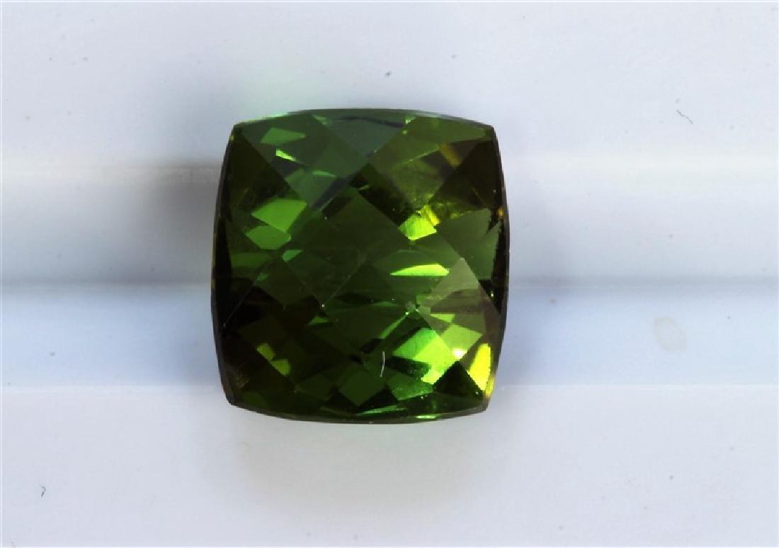 2.60ct Cushion Shape Green Tourmaline