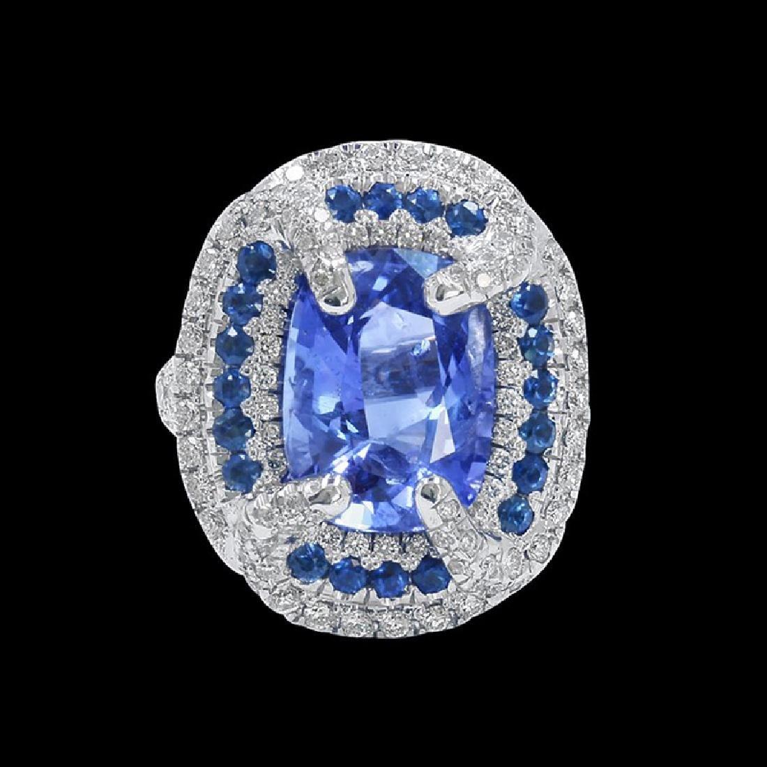 GIA 8.77CT NATURAL BLUE CEYLON SAPPHIRE (COLOR CHANGE