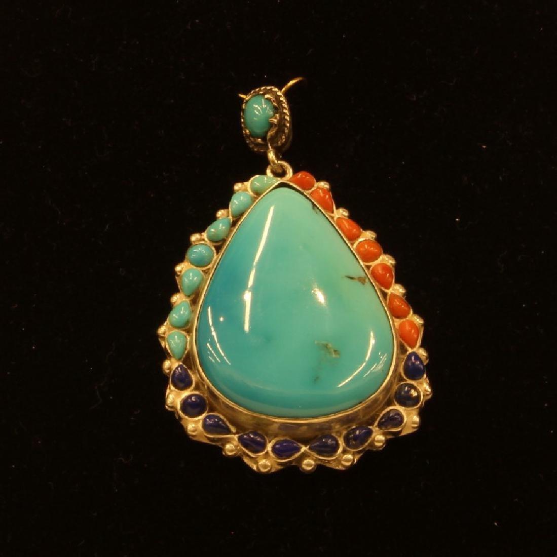 33grams Sleeping Beauty Turquoise Pendant