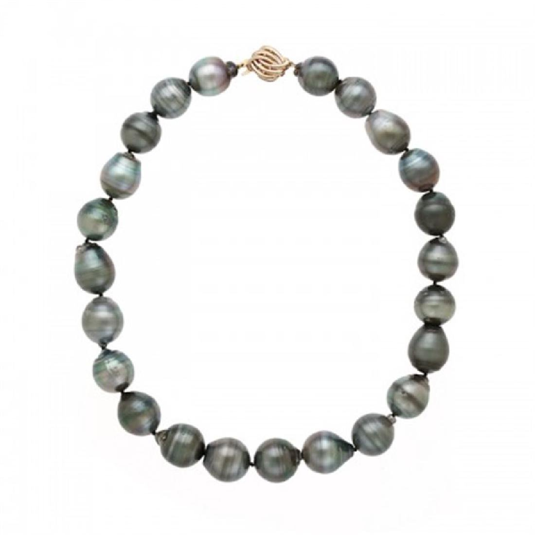 15.0-17.0mm Tahitian Pearl Necklace