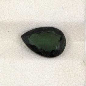 2.08ct Green Tourmaline Pear Cut