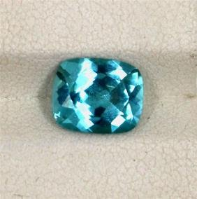 2.59ct Natural Apatite Emerald Cut