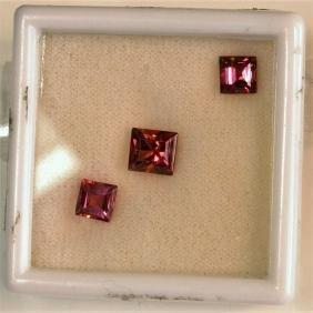 2.67ct Square Shape Pink Tourmaline