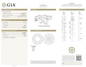 GIA/Round/D/VVS1/1.1Ct