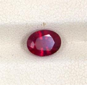 1.83ct Treated ruby oval cut