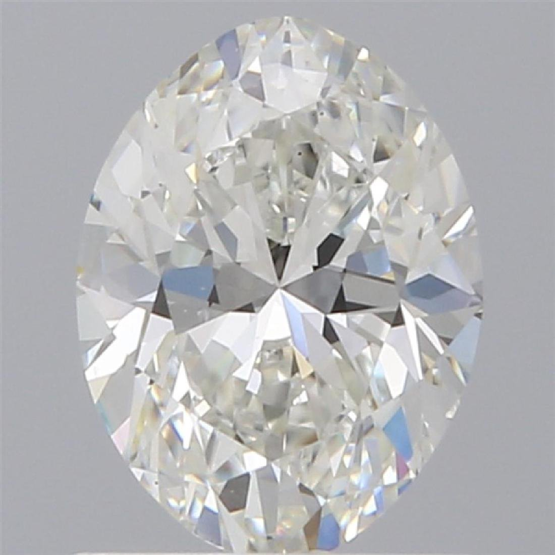 GIA/Oval/H/SI1/0.9Ct