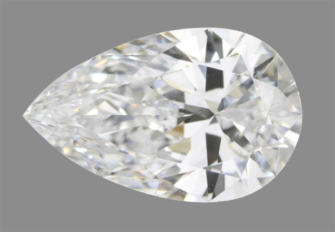 GIA/Pear/D/IF/1.2Ct
