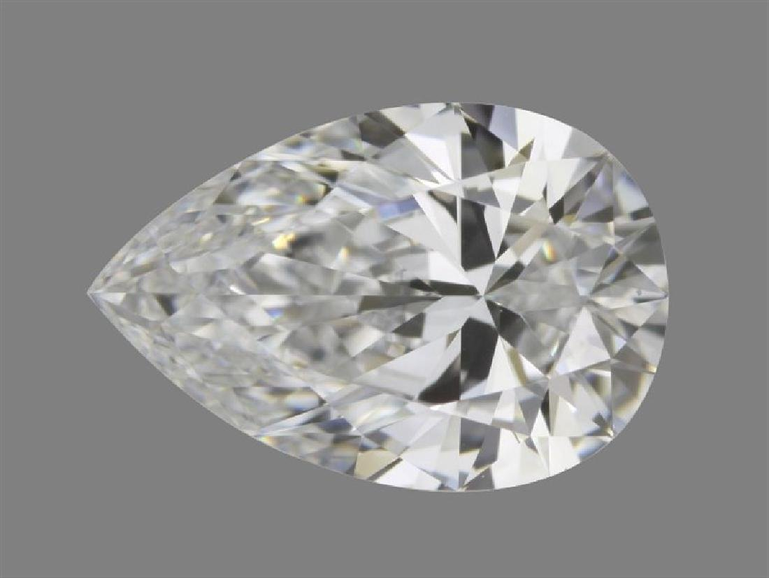 GIA/Pear/D/VS2/0.9Ct
