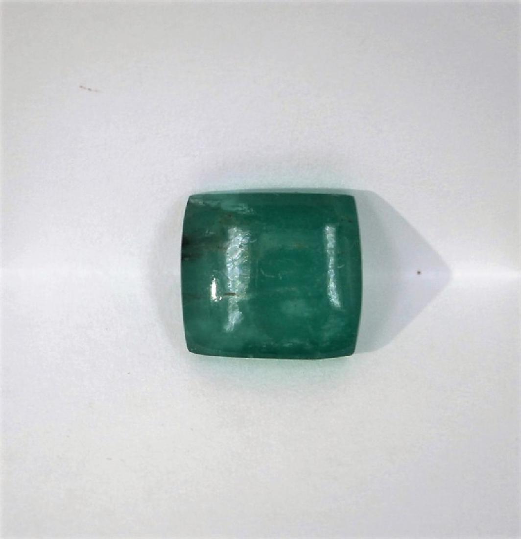17.57ct Emerald Princess cut