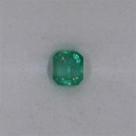 0.39ct Emerald Emerald Cut