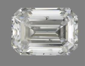 GIA/Emerald/D/SI2/0.9Ct