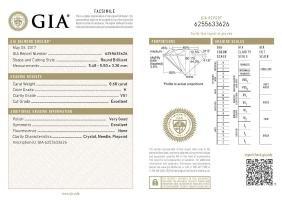 GIA/Round/H/VS1/0.6Ct