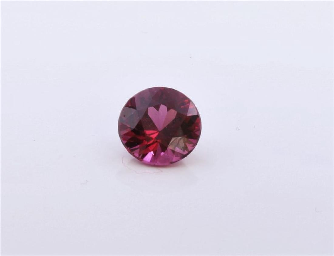 2.15ct Round Shape Pink Tourmaline
