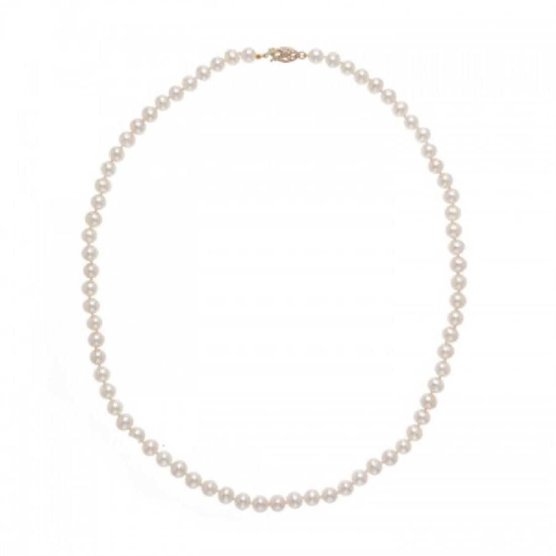 5.5-6.0mm Freshwater Pearl Necklace