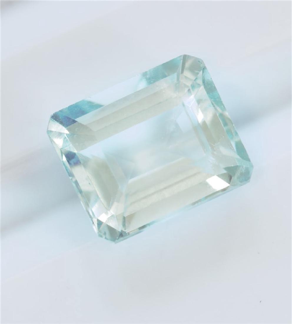 278ct Emerald Cut Aquamarine