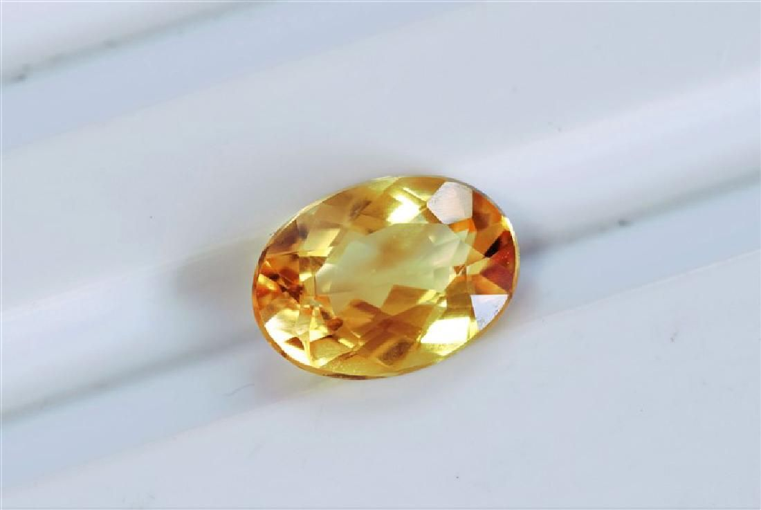 179ct Oval Shape Imperial Topaz