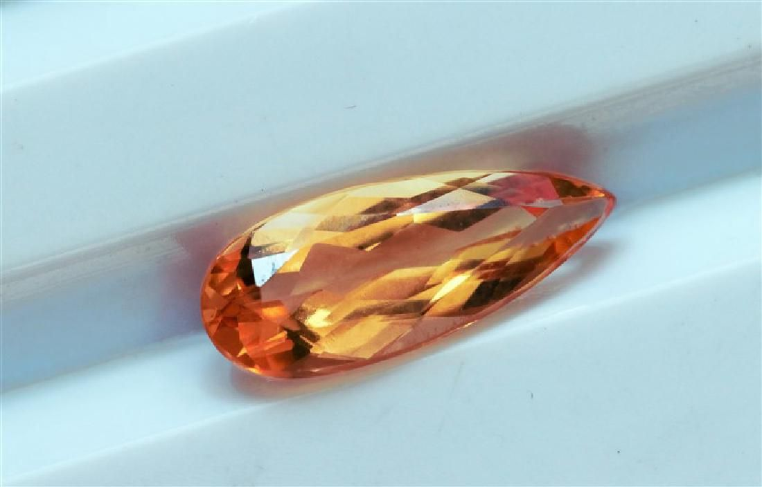 163 ct Oval Shape Imperial Topaz
