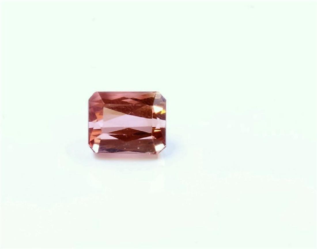 2.36ct Emerald Shape Pink Tourmaline