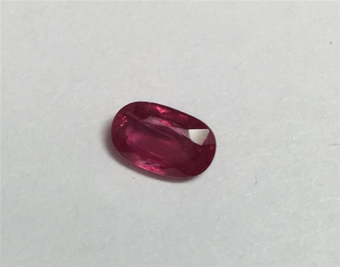 1.11ct Oval Cut Ruby