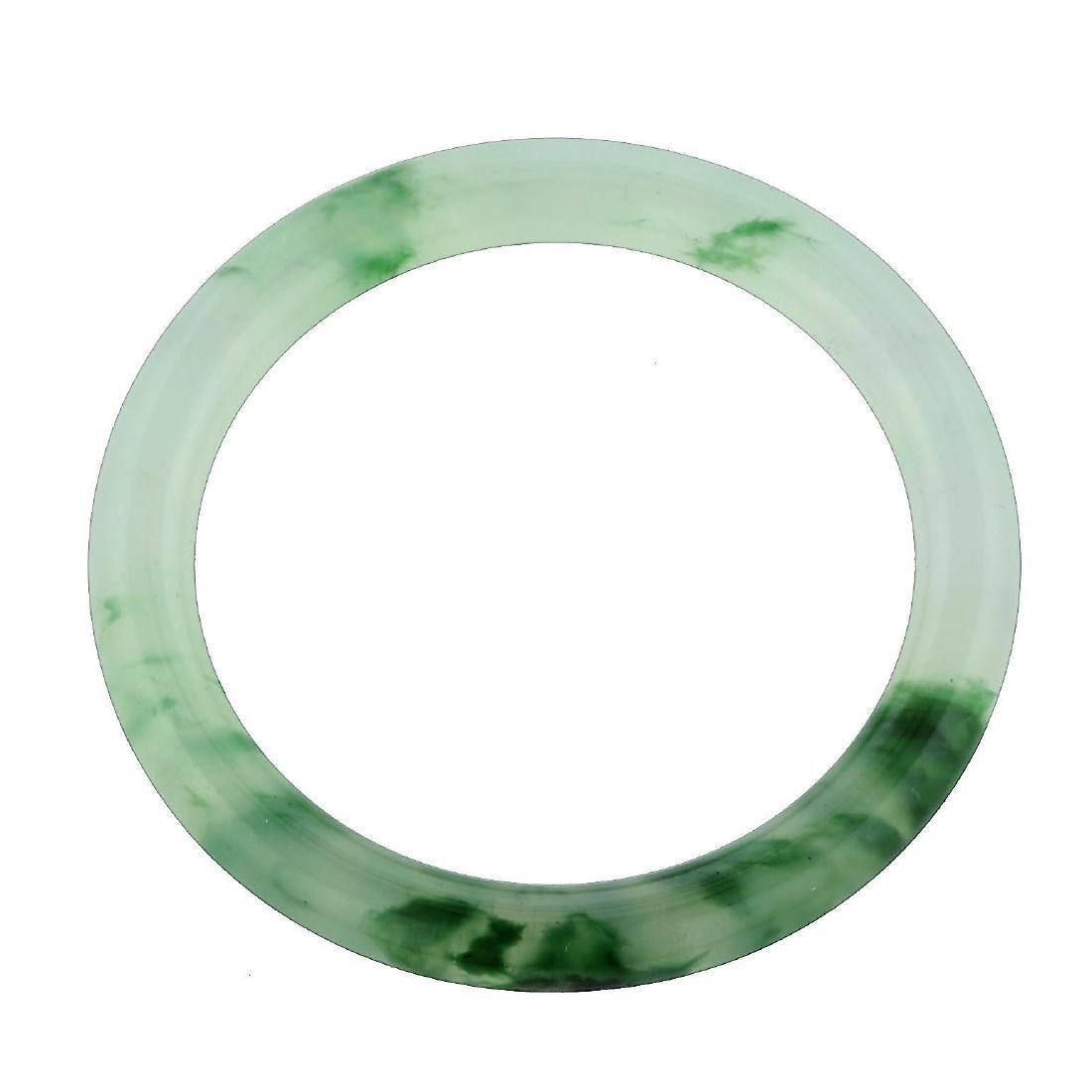 GIA 173.66ct Jadeite Jade Type A Bangle