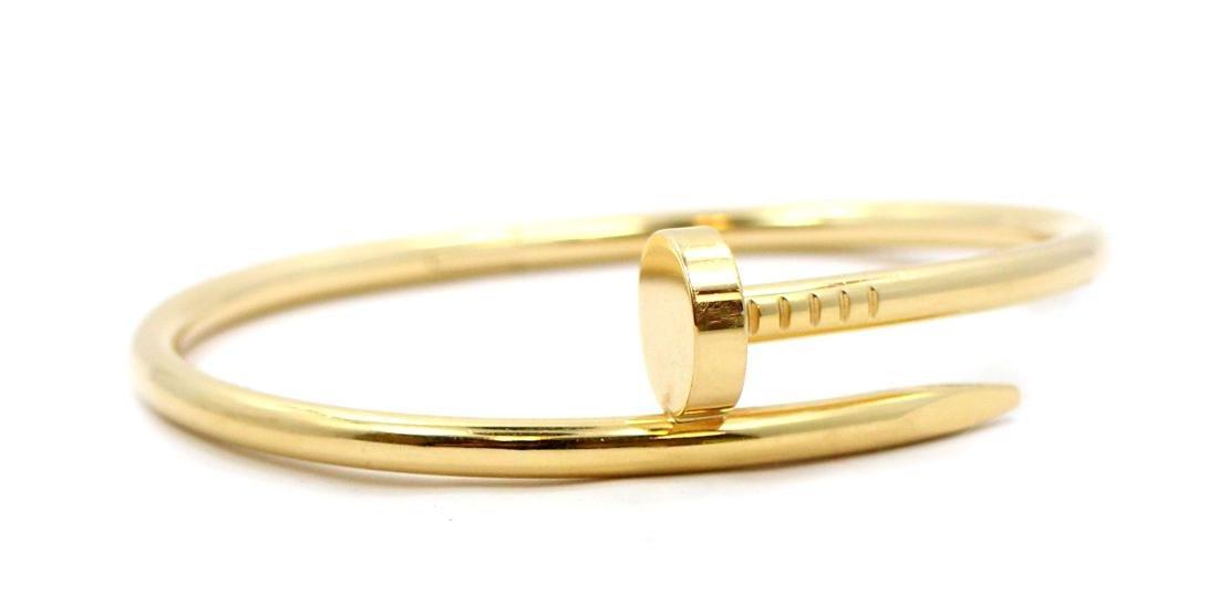 Cartier 18k Yellow Gold Juste Un Clou Bracelet YG