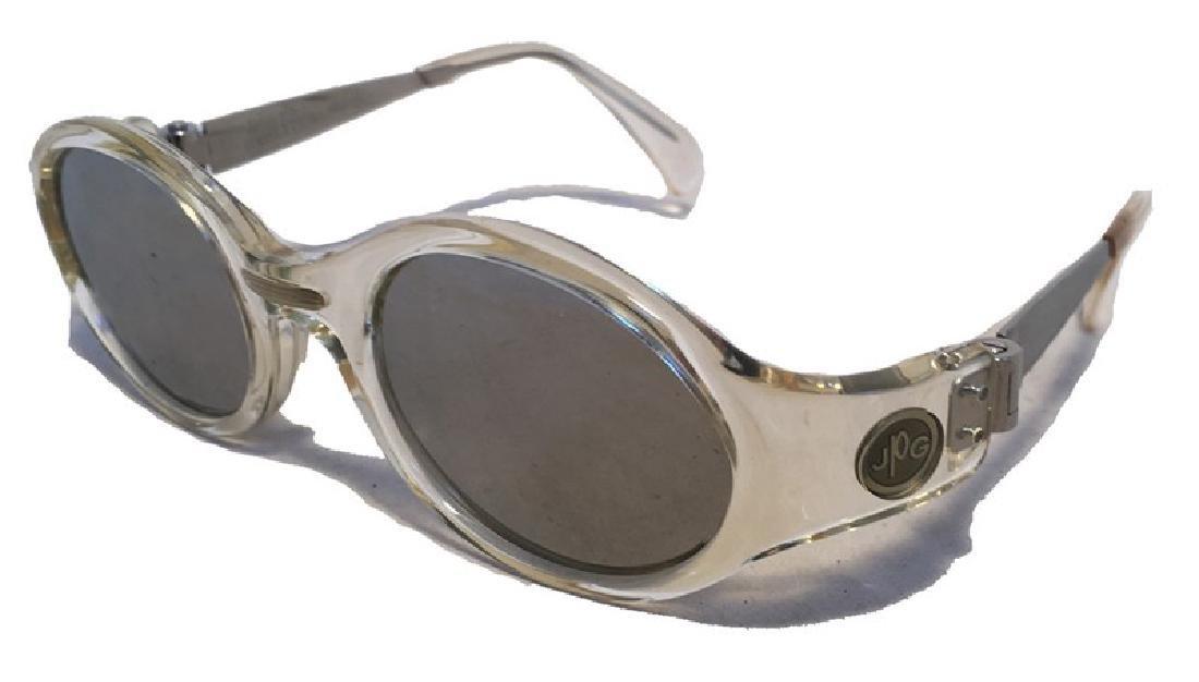 Jean Paul Gaultier Vintage Clear Framed Sunglasses