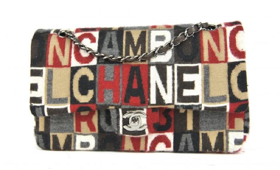 Chanel Multi Color Fabric  Medium Bag