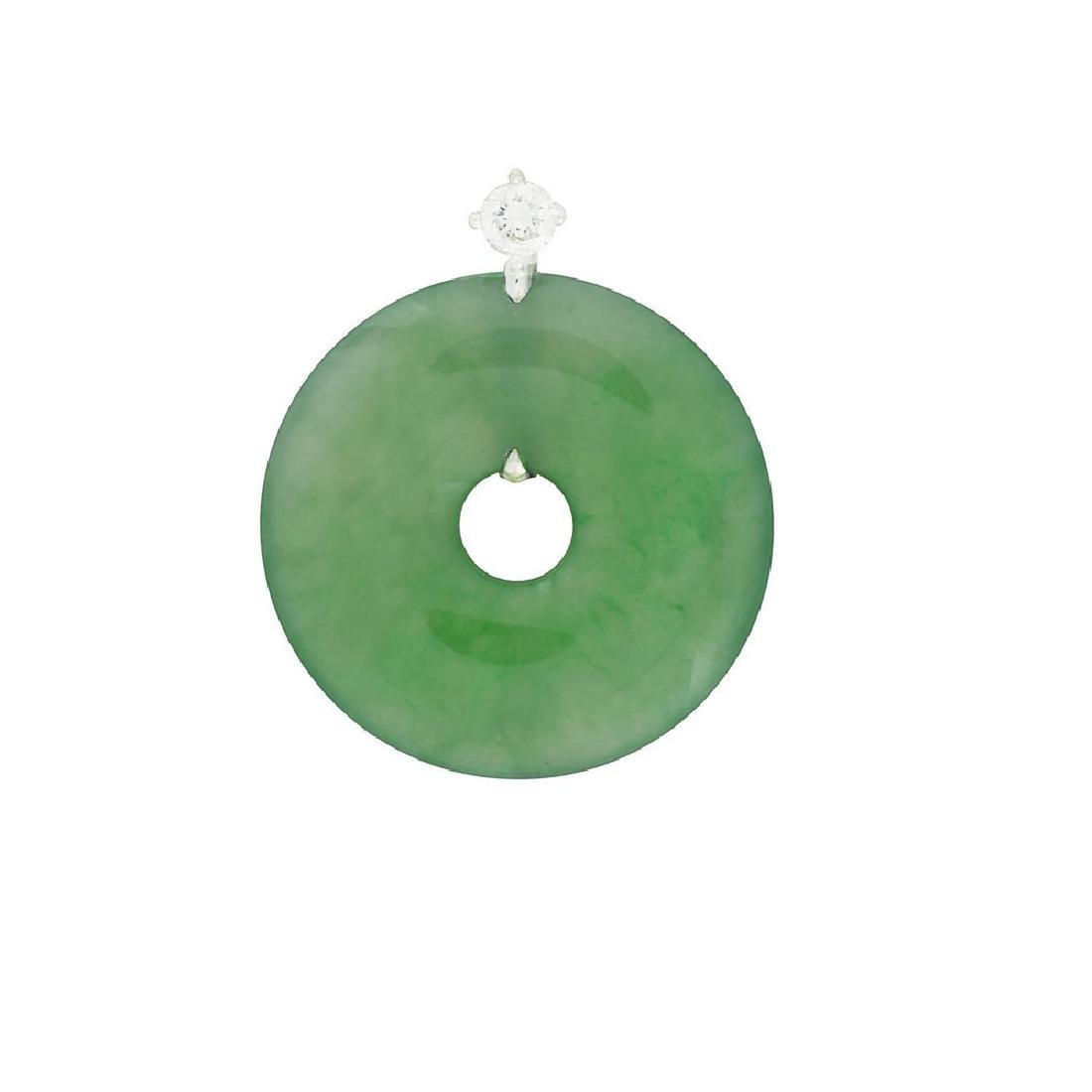 GIA 4.53 grams (gross) Natural Burma Jadeite Jade Type